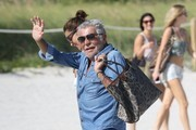 Roberto Cavalli and Lina Nilson Photos Photo
