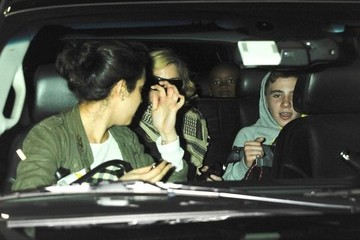 Rocco Ritchie Madonna and Her Family Arrive in NYC