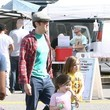 Rocko Clapp Johnny Knoxville Takes His Kids to the Farmers Market