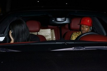 Romeo Miller Master P Gets Dinner in Beverly Hills