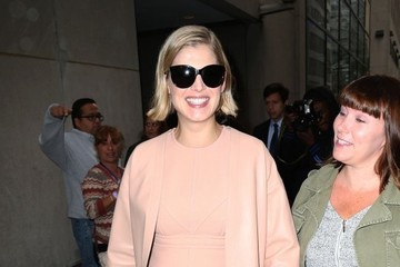 Rosamund Pike Celebs Stop by the 'Today' Show