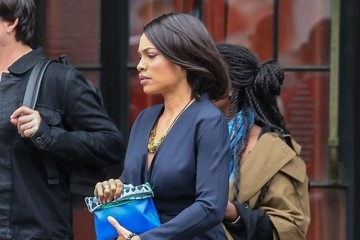Rosario Dawson Rosario Dawson Leaving The Bowery Hotel in New York City