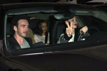 Rose McGowan Celebrities Enjoy a Night Out at Chateau Marmont