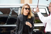 Rosie Huntington-Whiteley Steps Out After a Photo Shoot