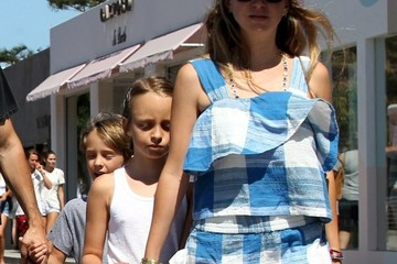 Ruby Maguire Tobey Maguire Is Seen in Malibu With Family