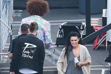 Rumer Willis Celebs at the 'Dancing With The Stars' Studio