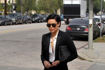Rumer Willis Rumer Willis Goes to a Studio in Hollywood