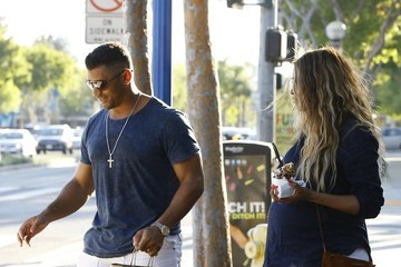 Russell Wilson Russell Wilson and Ciara Go Shopping in Style