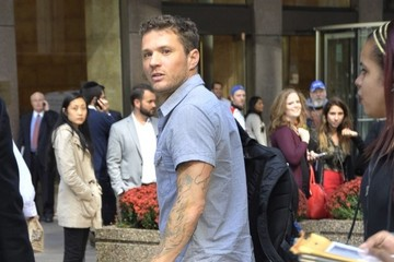 "Ryan Phillippe Celebrities Visit ""Today"" Show"
