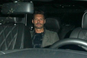 Ryan Seacrest Ryan Seacrest Dines Out at Il Piccolino With a Mystery Woman