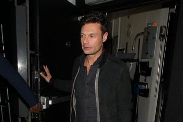 Ryan Seacrest Celebrities Dine Out at the Nice Guy Restaurant