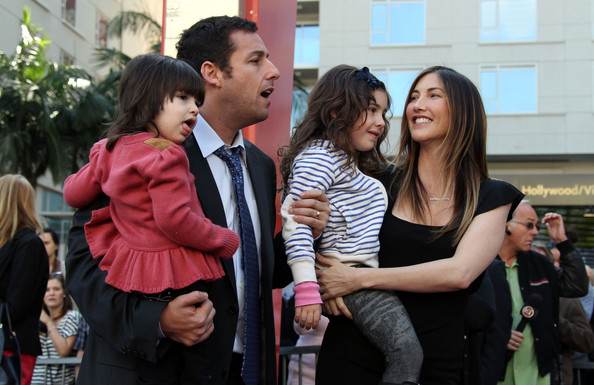 Adam Sandler Hollywood Walk Of Sadie And Sunny Sandler