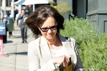 Sally Field Sally Field Keeps Busy in Brentwood