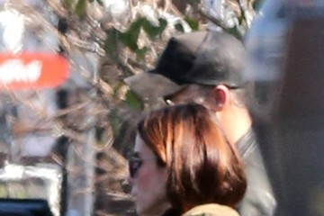 Sandra Bullock Sandra Bullock Kisses Her Boyfriend In Studio City