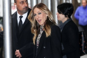 Sarah Jessica Parker Celebrities at 'The View' in NYC
