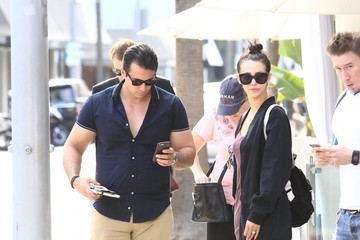 Scheana Marie Scheana Marie and Peter Madril Shop in Beverly Hills Together