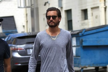 Scott Disick Scott Disick Heads Out in Beverly Hills