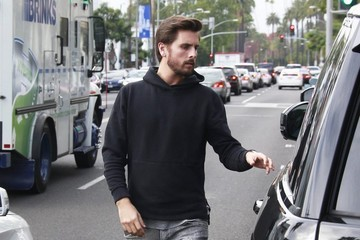 Scott Disick Kourtney Kardashian Lunches with Her Family