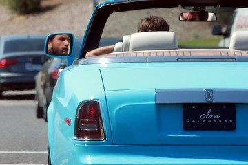 Scott Disick Scott Disick Is Seen Driving Around in a New Rolls Royce