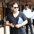 Scott Storch Scott Storch and His Girlfriend Have Lunch in Beverly Hills