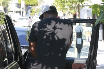 Sean Combs Sean 'P. Diddy' Combs Out in Hollywood