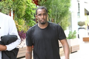 Sean Combs Sean Combs Works Up a Sweat