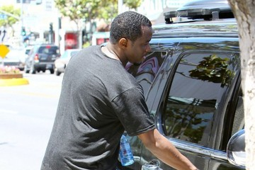 Sean Combs Sean Combs Leaves the Gym