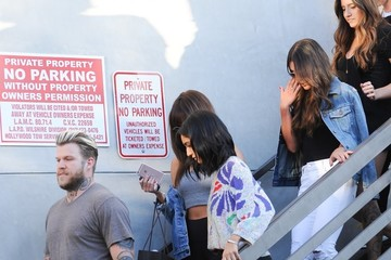 Selena Gomez Selena Gomez and Lea Michele Leave the Hair Salon in West Hollywood