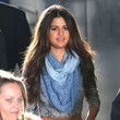Selena Gomez Films a Commercial in NYC