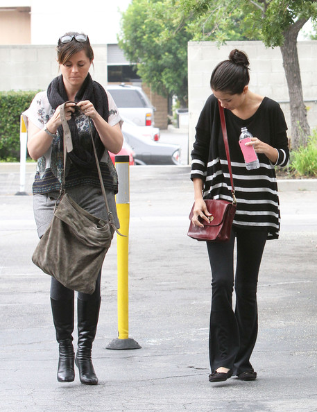 Selena Gomez Singer Selena Gomez stops by Providence hospital with a friend in Tarzana.