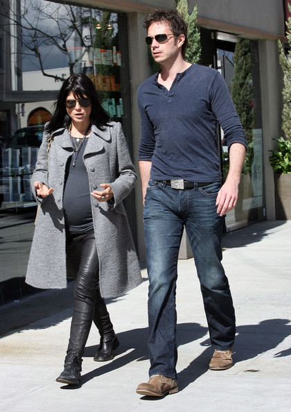 Selma Blair Pregnant actress Selma Blair and her boyfriend Jason Bleick seen leaving lunch in Beverly Hills, CA.