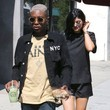 Shamari Maurice Kylie Jenner Lunches in West Hollywood