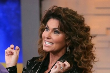 Shania Twain Celebs Visit 'Good Morning America'