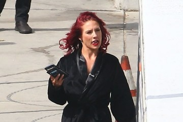 Sharna Burgess Celebs Are Seen at the 'Dancing With the Stars' Studio