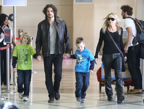 Sharon Stone family