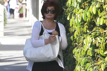 Sharon Osbourne Ozzy & Sharon Shopping At Maxfield