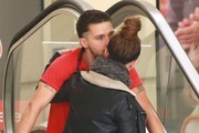 Shia LaBeouf & Mia Goth Enjoy A Little PDA