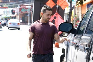 Shia LaBeouf Shia LaBeouf Leaves an AA Meeting