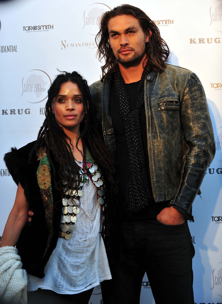 Lisa Bonet with cool, Husband
