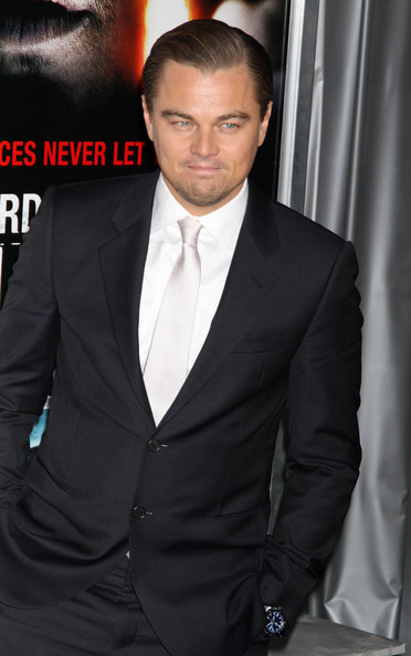 Leonardo DiCaprio Celebrities attend the New York premiere of