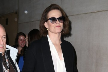 Sigourney Weaver Celebrites At 'The Today Show' In NYC