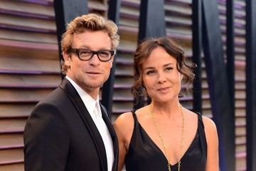 Simon Baker The 2014 Vanity Fair Oscar Party