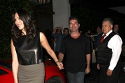 Simon Cowell & Lauren Silverman Dine At Cecconi's