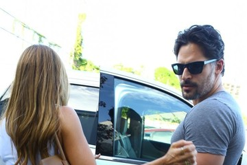 Sofia Vergara Sofia Vergara & Joe Manganiello Lunch In Miami