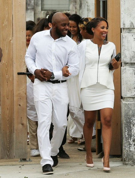 Singer Solange Knowles weds Alan Ferguson in front of friends and family in New Orleans, Louisiana on November 16, 2014. The pair enjoyed a bike ride instead of a limo ride after the wedding.