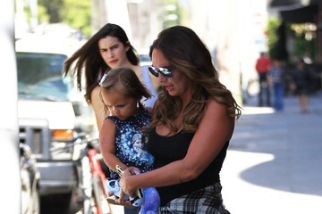 Sophia Rutland Tamara Ecclestone Shops in Beverly Hills With Her Daughter
