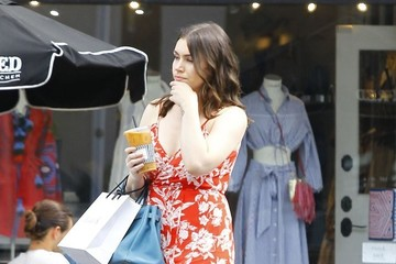Sophie Simmons Sophie Simmons Stops for Coffee in West Hollywood