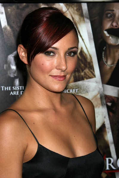 Briana Evigan Celebrities walk the red carpet at the 'Sorority Row' Los ...