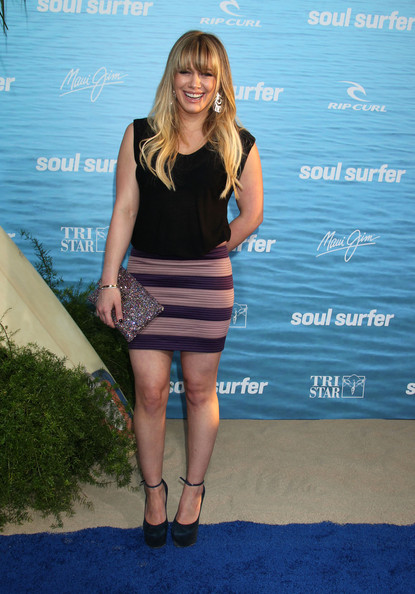 "Celebrities attend the ""Soul Surfer"" Los Angeles premiere at the ArcLights Theatre in Hollywood."