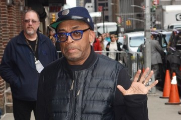 Spike Lee Celebrities at 'The Late Show With Stephen Colbert'